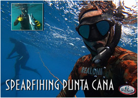 Bavaro, Punta Cana, Dominican Republic tour for spearfishing